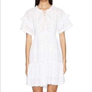 The Kooples | Embroidered White Dress